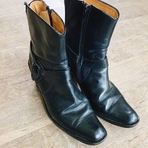 Frye || Romy Ring Harness Motorcycle Boots